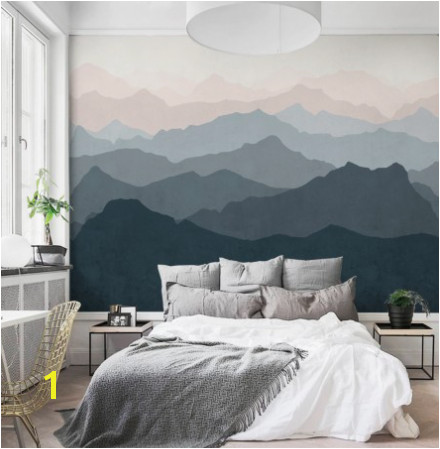 waterverf behang Wall Art Bedroom Bedroom Wall Designs Nursery Wall Murals Bedroom Murals