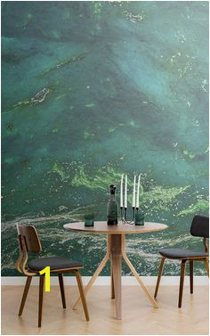 Inject a serene and tranquil aura into your home with a crystal effect wall mural