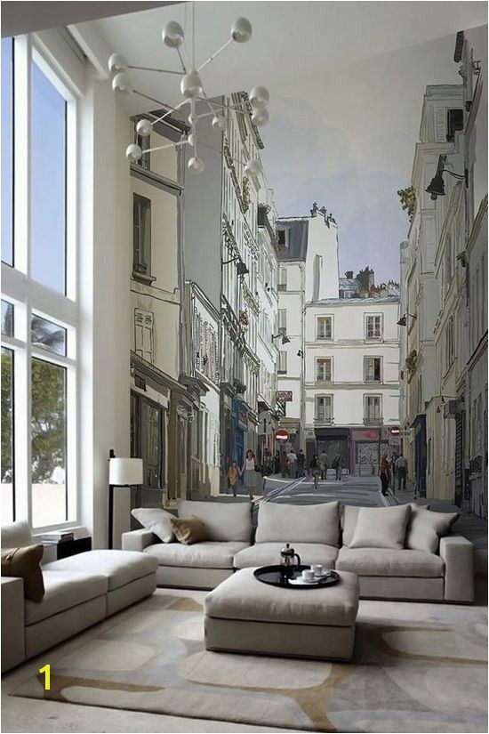 city street wall mural Paris Wallpaper Wallpaper City Wallpaper