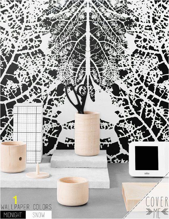 Temporary Leave vein print Self adhesive vinyl Wallpaper Peel and Stick…
