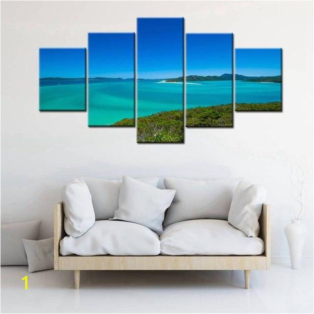 Beautiful Scenery in Australia Seascape & Landscape Wall Art Decor Sydney Opera House High Quality Canvas Painting Print Artwork