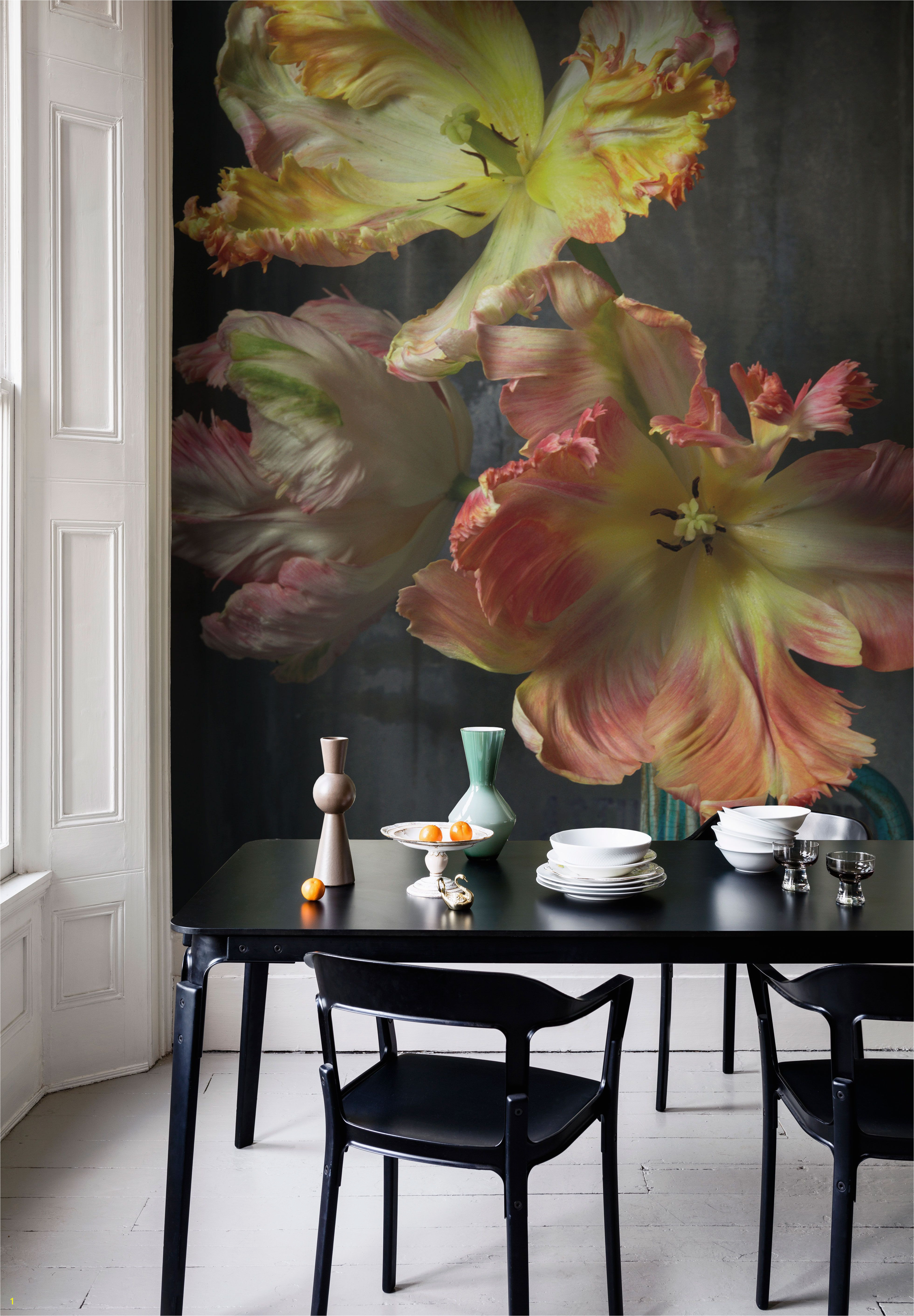 Bursting Flower Still Mural Trunk Archive Collection from £65 per sq m