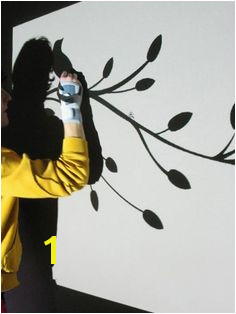 How to use a projector to paint your own wall mural Tree Wall Painting