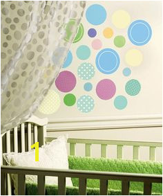 Take a look at this Baby Dots Wall Decal Set by WALLIES on zulily today
