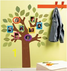 Wallies Peel & Stick Vinyl Wall Art Fun Family Tree A charming way to