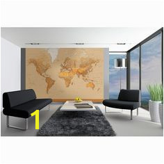 "The World 12 x 100"" Wall Mural"