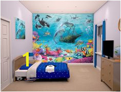 Walltastic Sea Adventure Wallpaper Mural Childrens Wall Murals Kids Wall Murals Kids Wallpaper