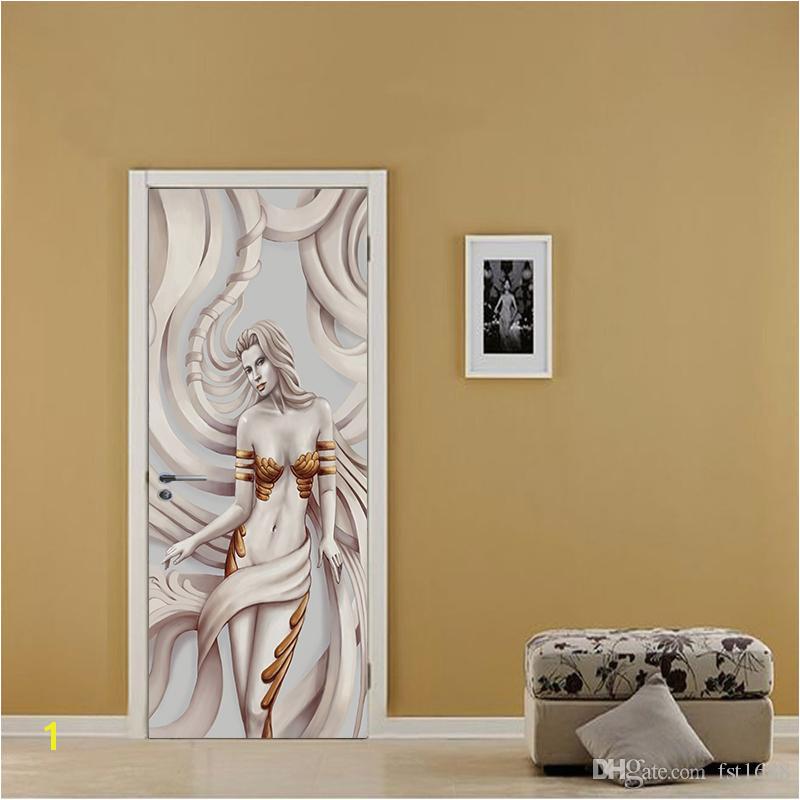 3D Effect European Wallpaper Beibehang Relief Beautiful Poster Mural Door Sticker Background Decorative Waterproof Living Room Home Decor Vinyl Art Stickers