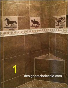Western Tile Murals 22 Best Bathroom Tile Images