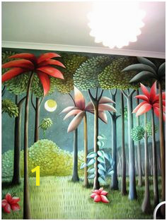 Where the Wild Things Are Mural I kinda want one of these in my