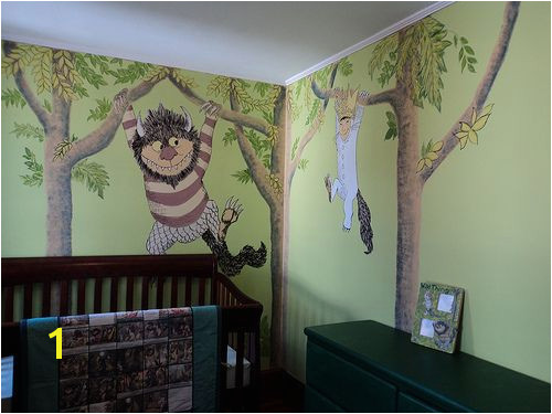 "Matteo s magical ""Where the Wild Things Are"" themed nursery Nursery Pinterest"