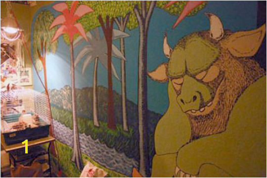 wall mural where the wild things are kid s room 2009 04 maja1 rect540