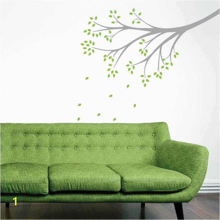 Delicate Whimsical Branch Wall Decals Stickers Graphics