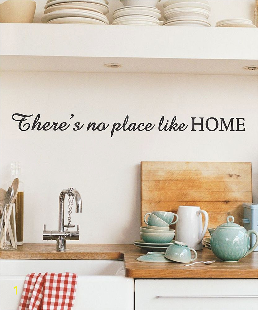 Whimsical There s No Place Like Home Wall Decal
