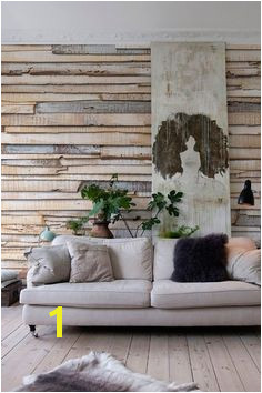 Brewster Home Fashions Whitewashed Wood Mural