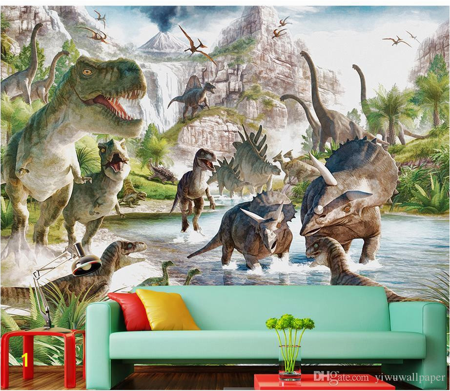 Mural 3d Wallpaper 3d Wall Papers For Tv Backdrop Dinosaur World Background Wall Murals Decorative Painting Wallpaper Border Wallpaper Borders From