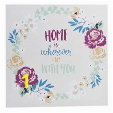 Wall Art Wilko Home Canvas 48x48cm