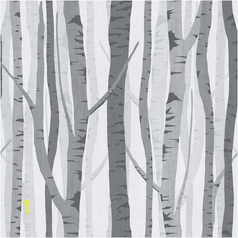 Wilko Trees Wallpaper Black Grey WP at wilko