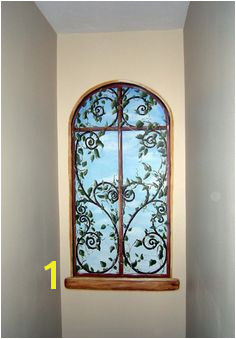 thinking of doing something like this in a niche in my living room Faux Painting