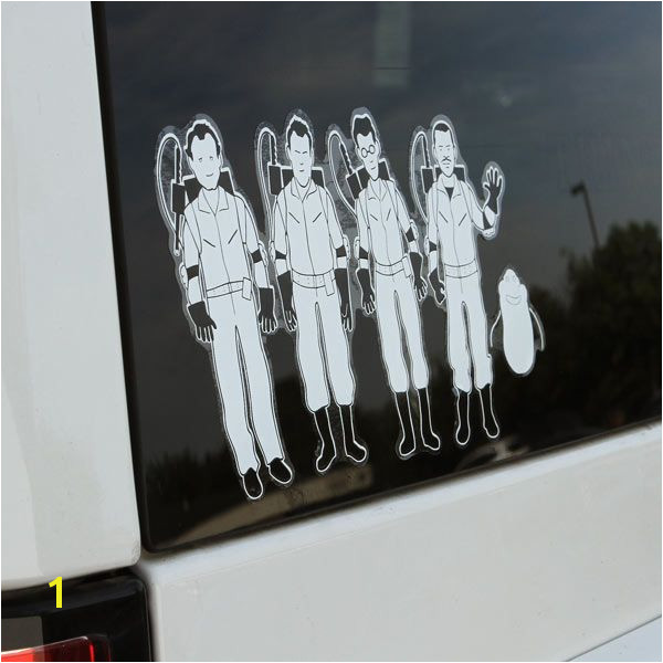 Window Murals for Cars Ghostbusters Window Decal who Ya Gonna Call