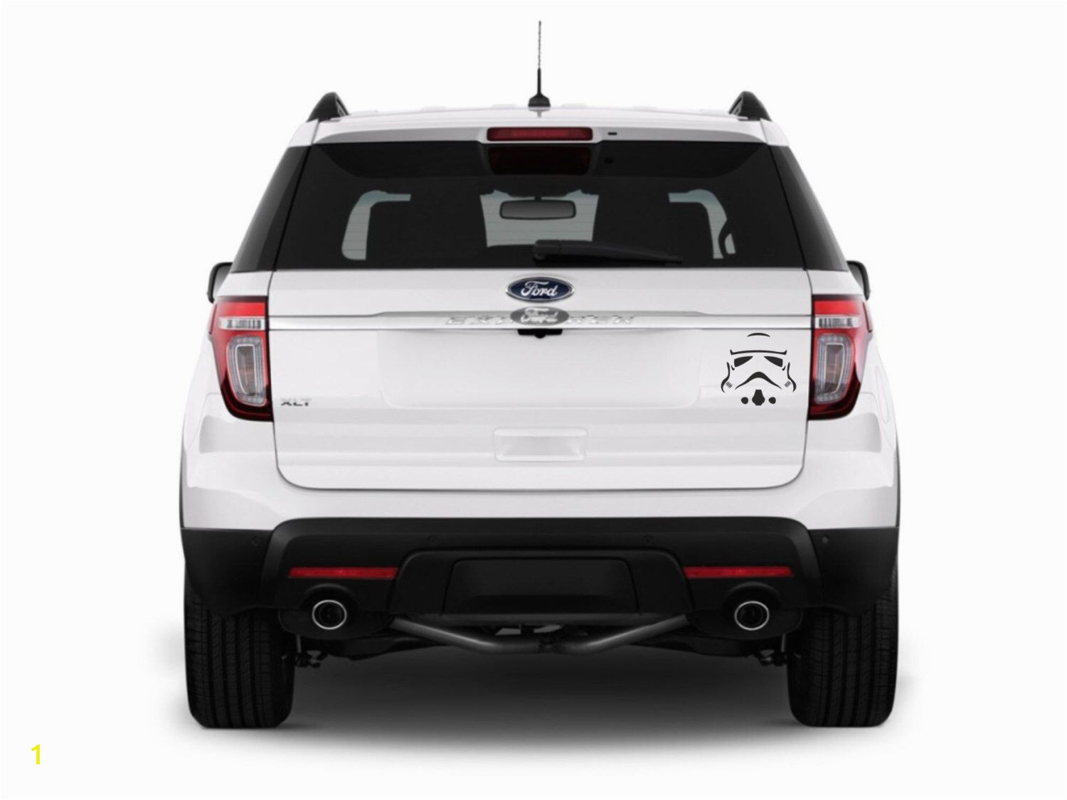 Sci fi art inspired by Star Wars Stroemtrooper vinyl car decals rear window decals