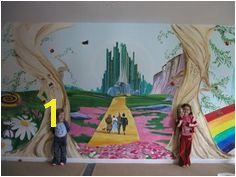 wizard of oz wall murals