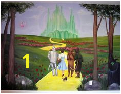 wizard of oz murals Google Search