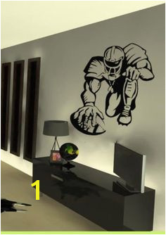 Nfl Football Players Room Stickers Vinyl Wall Art Vinyl Decals Dorm Room Pink White Hot Pink Latest Trends Kids Room