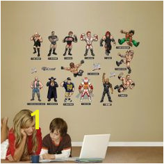 WWE Kids Collection Wall Decals For Bedroom Wall Decal Sticker Wall Stickers Wwe