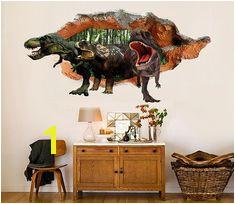 3D Dinosaurs 30 Broken Wall Murals