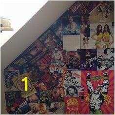 WWE bedroom ideas poster wall