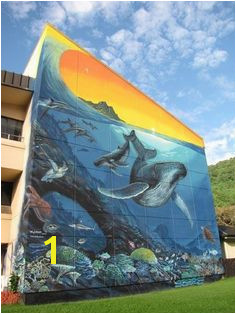 "American Samoa s ""Whaling Wall"" by Wyland"