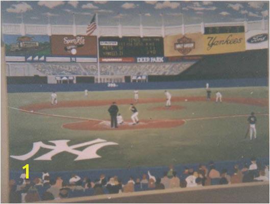 Lovely Yankees Stadium Mural Part 28