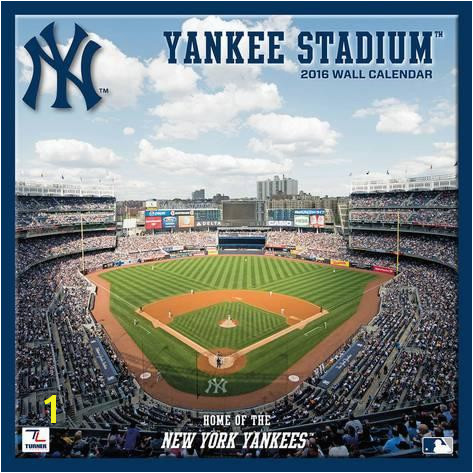 Free New York Yankees Yankee Stadium Wall Calendar Calendars With Yankee Stadium