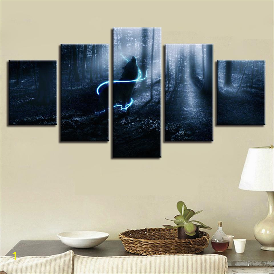 decor bedroom wall art modular framed painting
