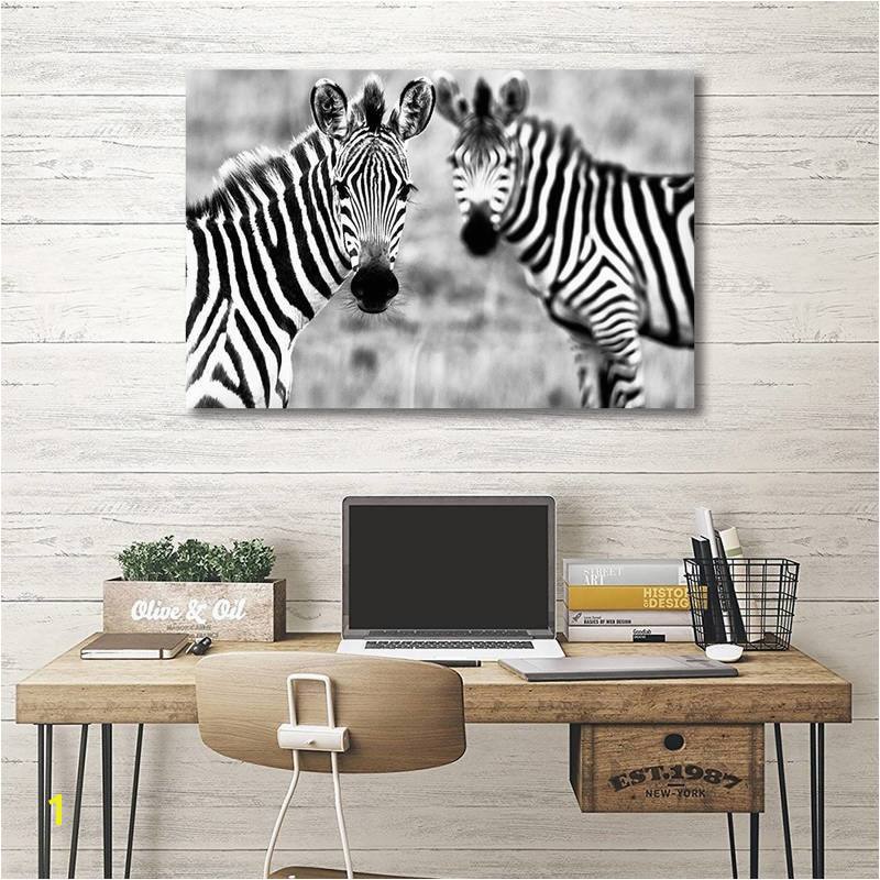 Highland Cow Prints Posters Wall Art for Living Room Bedroom Decoration Animal Canvas Painting Rhinoceros Zebra Picture No Frame in Painting & Calligraphy