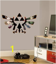Legend Zelda Wall Sticker Vinyl Mural Full Colour Decal 700mm x 400mm Custom Sizes Available