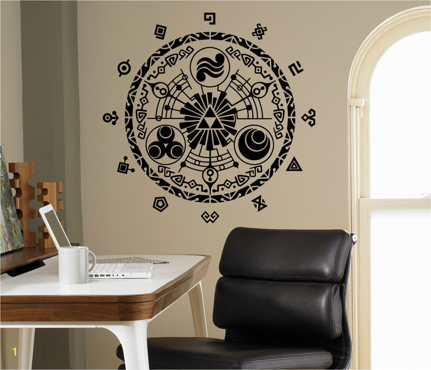 Legend of Zelda Wall Vinyl Decal Gate Time Wall Sticker Home Interior Bedroom Decor Kids