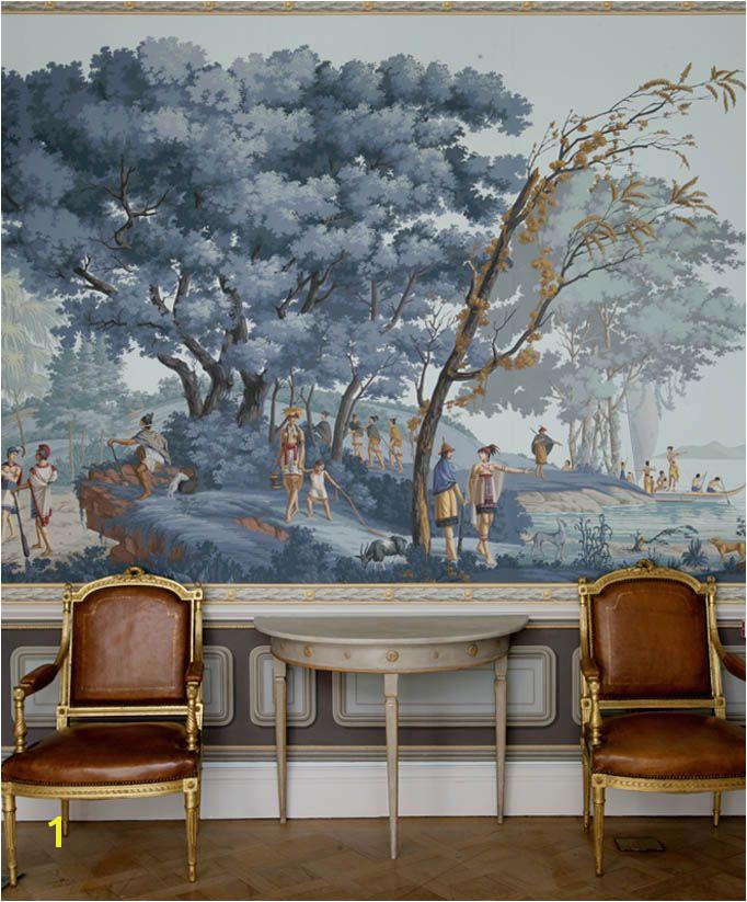 Zuber Wallpaper Mural Grisaille Murals Wallpapers Art Screens Part Ii