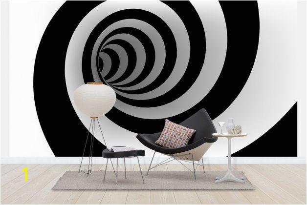 3d Abstract Wall Mural Abstract Spiral Wall Mural & Wallpaper Wall