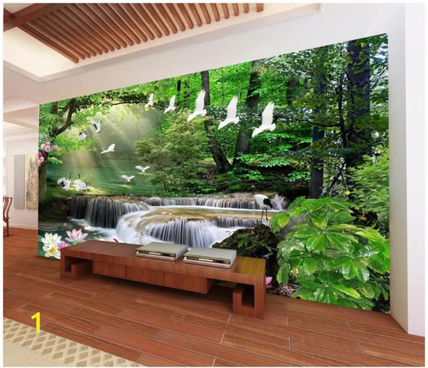 3d Photo Wall Murals 3d Wallpaper Custom 3d Wall Murals Wallpaper Dream Mori Waters Landscape Painting Living Room Tv Background Wall Papel De Parede Wallpaper High