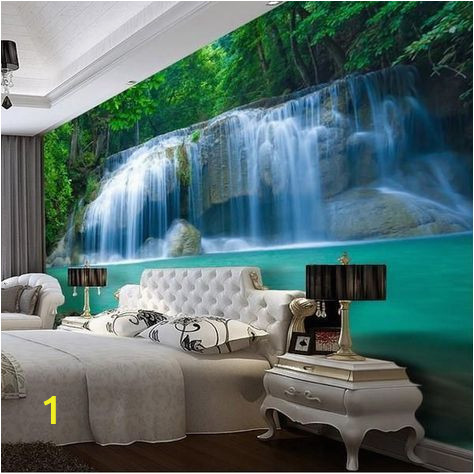 3d Waterfall Wall Mural 3d Waterfall Pool Design Wallpaper for Walls Wall Mural