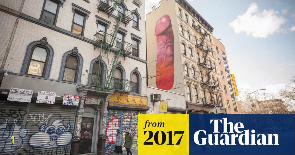 A Building Has A Mural Painted On An Outside Wall New York Giant Mural that Drew Shock and Scorn