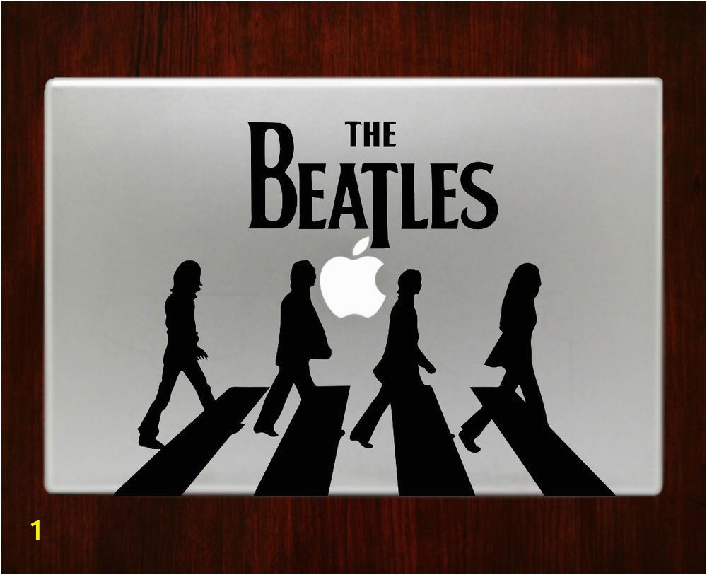 Abbey Road Wall Mural Liverpool the Beatles Band Abbey Road Walk Mac Decal Stickers for