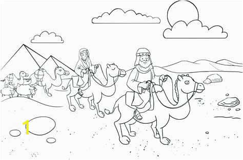 abraham and sarah coloring page isaac pages