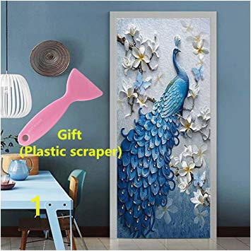 "Adhesive Wall Decor Mural Sticker Kelay Fs 3d Door Wall Murals Wallpaper Door Stickers Decor Door Decals Self Adhesive Door Mural Poster Vinyl Door Wall Stickers 35 5""x 78 7"""