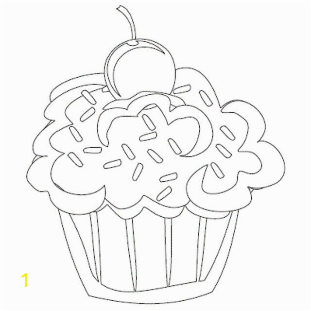 Adult Coloring Pages Cupcakes 21 Wonderful Image Of Cupcake Coloring Pages