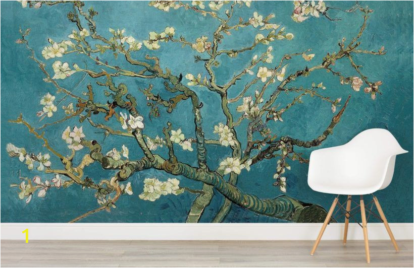 Almond Blossom Wall Mural Van Gogh Wallpaper