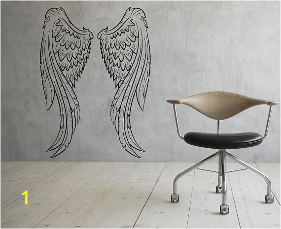Angel Murals for Walls Angel Wings Wall Decal Flight Vinyl Decal Sticker Murals