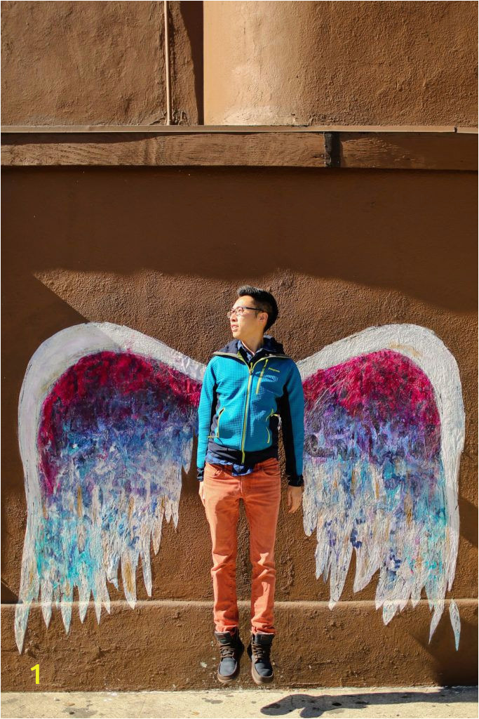 Angel Wings Wall Mural Los Angeles 37 Most Instagrammable Places In Los Angeles